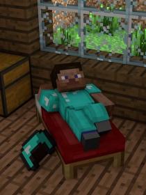 Minecraft-Steve生存日常