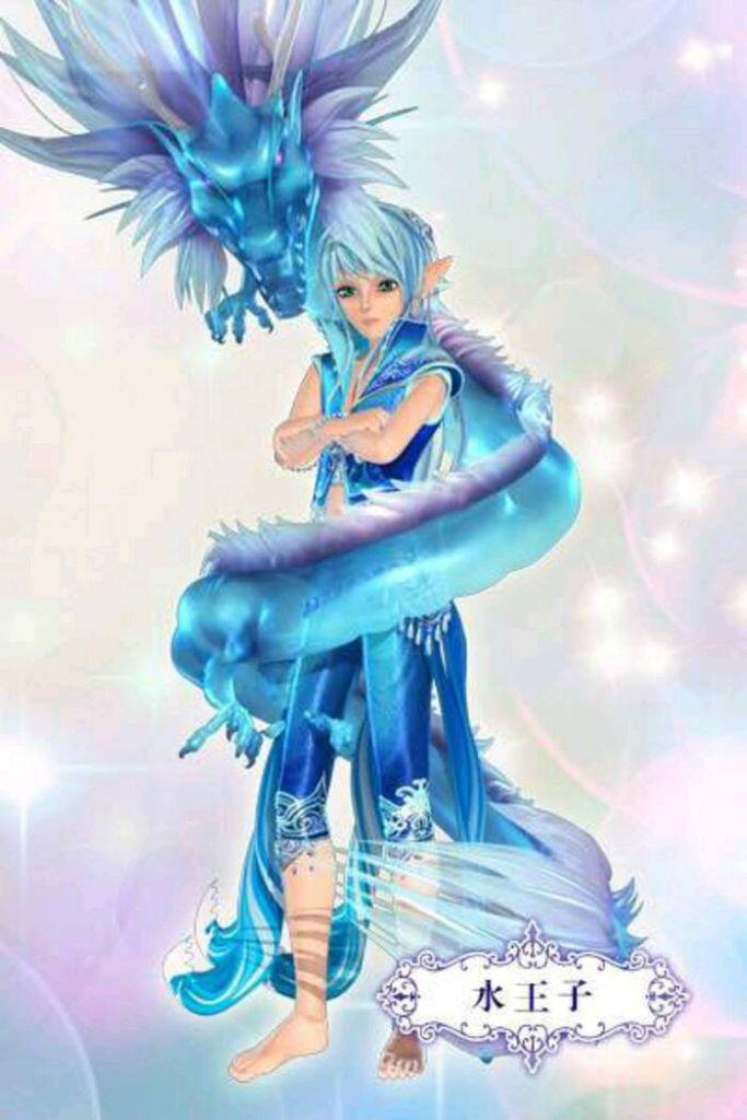 样子 水灵泊 身份:叶罗丽仙境的水王子,净水湖的主人,灵犀阁的圣级图片