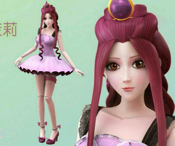 叶罗丽精灵梦之冰之公主图片