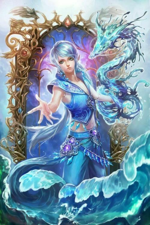 水王子(水灵泊)叶罗丽魔法,水轮回!图片