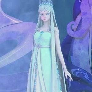 冰雪女神传_看着眼前这位高傲如冰雪般的人儿 心中透露出了喜爱.